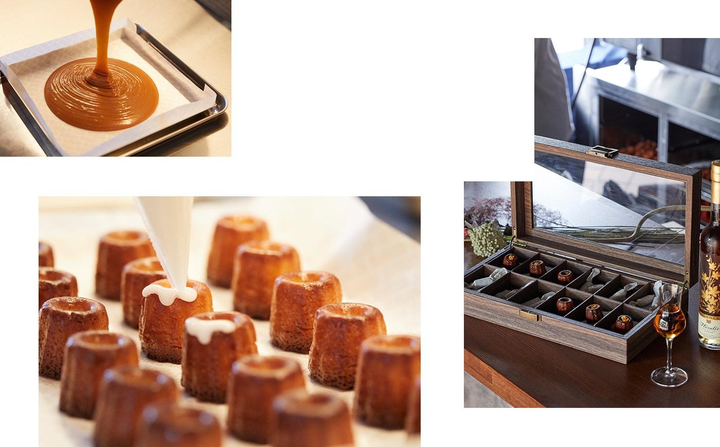 Penheurは神戸北野でカヌレとキャラメルを作っているお菓子屋さんです。